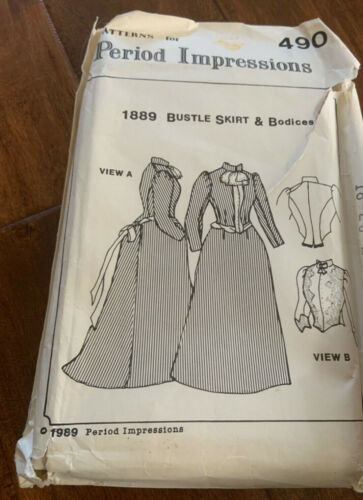 Vintage New Period Costume for Stage and Screen.Patterns for Women