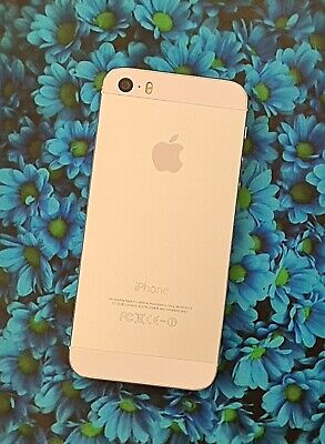 Apple iPhone 5S 32GB Unlocked Silver Very Good Condition