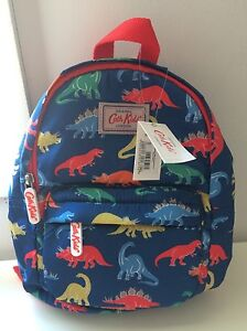 Cath Kindston Dino Stamps Kids Lightweight Mini Rucksack Point Cook Wyndham Area Preview