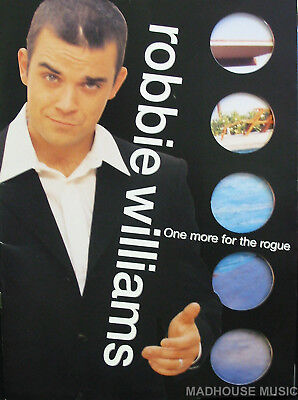 ROBBIE WILLIAMS Programme One More For The Rogue UK TOUR 1998-1999 20 Page M-