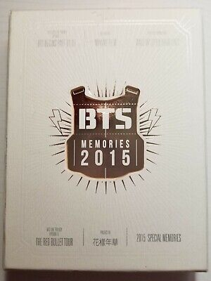 [RARE] BTS Memories of 2015 OFFICIAL 4 DVD Discs (NEW/never been used)+Photobook