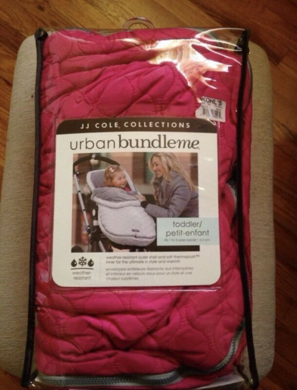 JJ Cole Collection urban bundleme, toddler, fits 1 to 3 years old