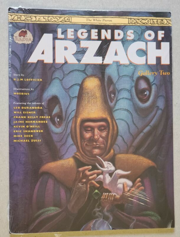 Legends Of Arzach Gallery Two Portfolio Tundra Moebius sealed FLAT RATE SHIPPING