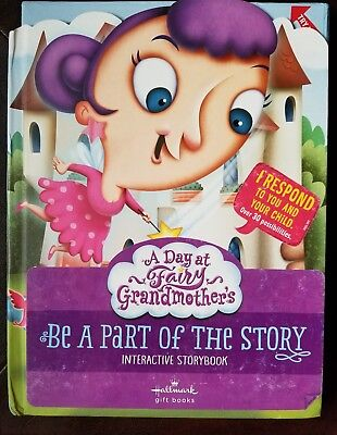Hallmark Interactive Storybook ~ A Day at Fairy Godmother's
