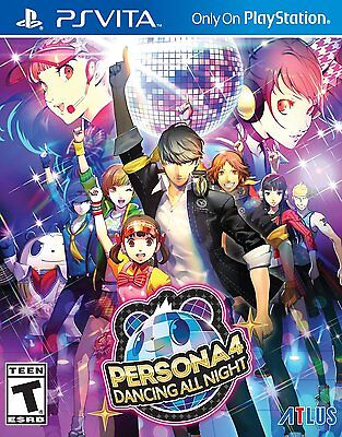 Persona 4: Dancing All Night [Sony PlayStation Vita PSV, Dancing Music Game] NEW