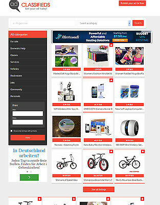 Classifieds Ads Website Free Hosting With Ssl