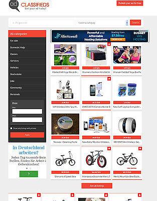 Classifieds Ads Website
