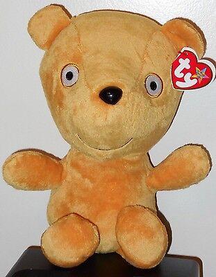 "Ty Beanie Buddy ~ PEPPA'S TEDDY the 9"" UK Peppa Pig Park Exclusive Plush ~MWMT'S"