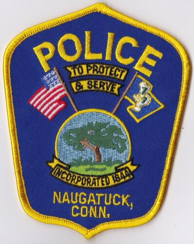 Naugatuck Police Connecticut CT  Patch NEW!! new style !