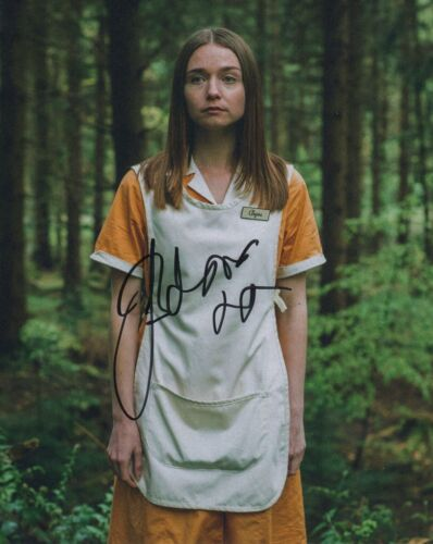 Jessica Barden End of the World Autographed Signed 8x10 Photo COA 2019-7