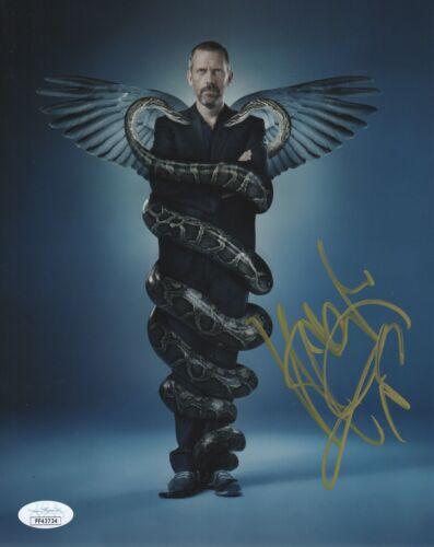 Hugh Laurie House MD Autographed Signed 8x10 Photo JSA COA 2019-1
