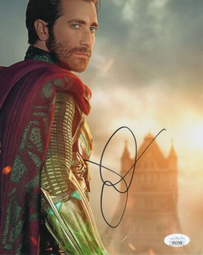 Jake Gyllenhaal Spiderman Far From Home Autographed Signed 8x10 Photo JSA COA