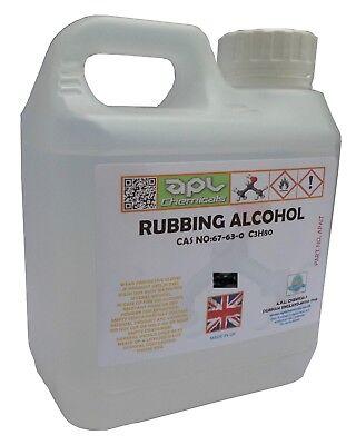 RUBBING ALCOHOL IPA ISOPROPYL ISOPROPANOL 70% 500 ML  PURE