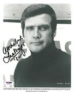 Lee Majors Signed