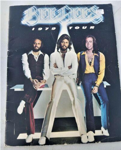 BEE GEES 1979 SPIRITS HAVING FLOWN TOUR CONCERT PROGRAM BOOKS CONCERT TICKET