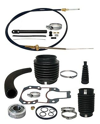 Mercruiser Alpha 1 One Gen II 2 Transom Service Kit Gimbal Shift Cable bellows