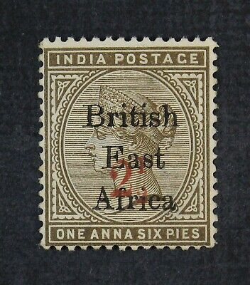 CKStamps: British East Africa Stamps Collection Scott#59 Unused NG Light Crease