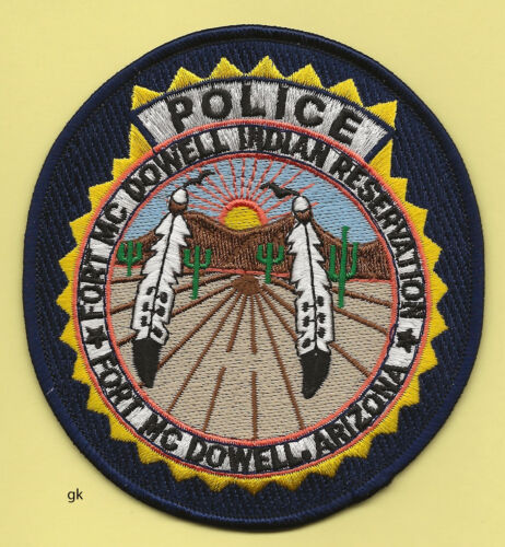 ARIZONA FORT MCDOWELL INDIAN RESERVATION TRIBAL SHOULDER PATCH