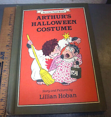 Arthurs Halloween Costume hard cover book, 1984, by Lillian Hoban, - Arthur's Halloween Books
