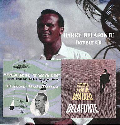 Harry Belafonte Double Cd Mark Twain   Streets I Have
