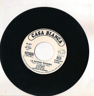 DON BACKY - LA NOSTRA SPIAGGIA - FRASI D'AMORE - DISCO JUKE BOX -  EX+