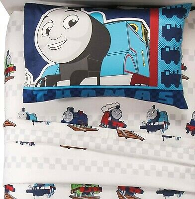 Thomas the Tank Engine & Friends 3 Pc Twin Sheet Set Friendship in Motion