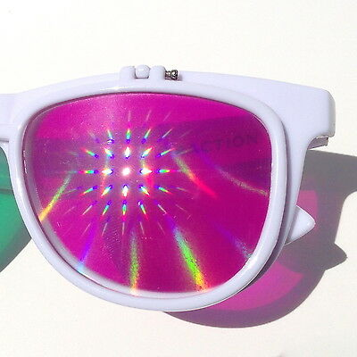 SUPER Diffraction Glasses Global Shipping Skriller dubstep edm rave house music