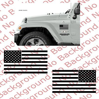 American USA Flag Vinyl Decal Sticker for Car Truck Window Off Road 4x4 US020 Decal Stickers For Cars