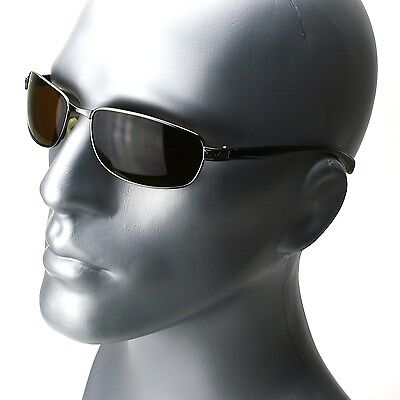 Mens Rectangle Frame Classic Sunglasses New Fashion Driving (Rectangle Sunglasses)