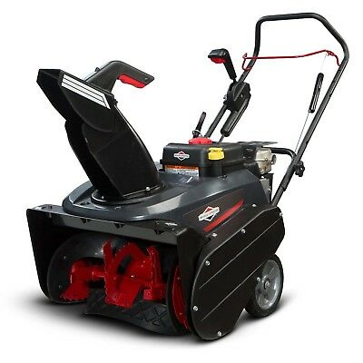 Briggs Stratton 22 205cc Single Stage Electric Start Gas Snow Thrower 1696506