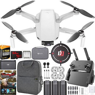 DJI Mavic Mini Drone Quadcopter Fly More Combo CP.MA.00000123.01 + Remote Bundle