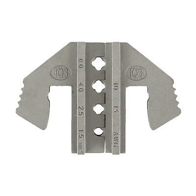(Crimping Tool Die - IQ3 Die for Tyco Solar Connectors AWG 15-10)
