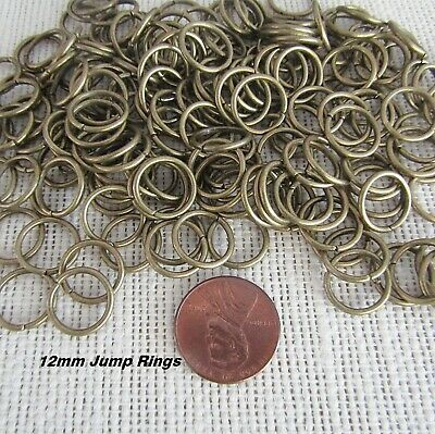 Ring Making Supplies (Large BRONZE Jump Rings 12mm Make Rosary Jewelry Bracelets Supplies Part 20)