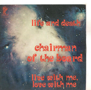 chairman of the board life and death solo copertina only cover