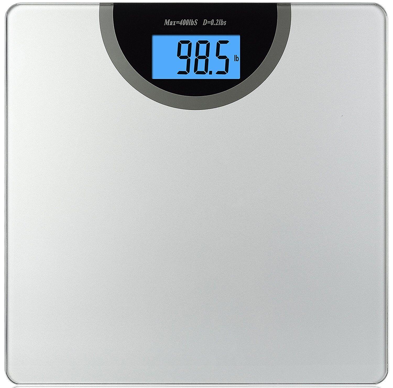 Digital Bathroom Scale Body Weight Management Measure Backli