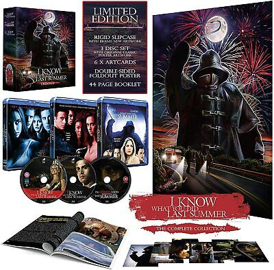 I Know What You Did Last Summer Trilogy Limited Collectors Edition Blu-ray 2020!