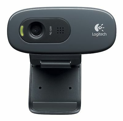 HD Webcam Kamera Logitech USB 2.0