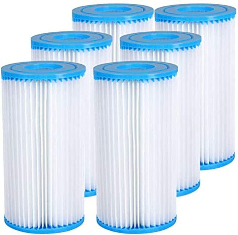 Intex Pool Easy Set Type A/C Replacement Filter Pump Cartridge (2/4/6 Pack)
