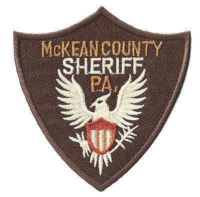 Ecusson brodé patche SHERIFF Mc KEAN County thermocollant patch - County Sheriff Kostüm