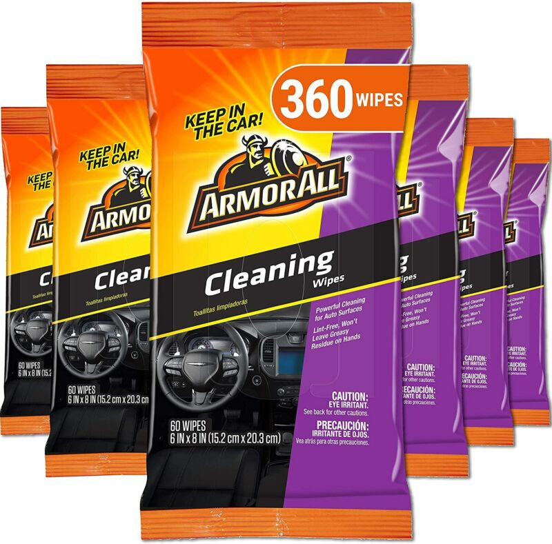 Car Interior Cleaner Wipes for Dirt & Dust - Cleaning for Cars & Truck