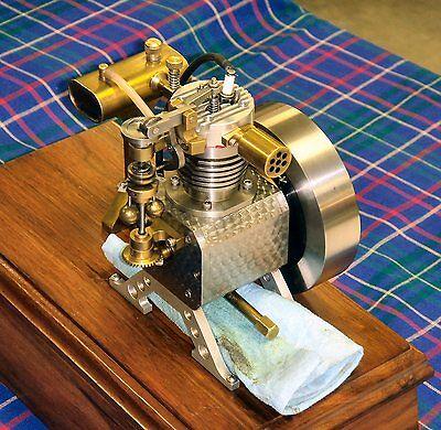 Model Engine Builder - Bob Shores Silver Angel Model Engine Plans and Builders Hints Barstock Built