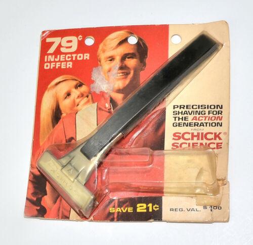 New Old Stock 60s, 70s Era Schick Type L1 Injector Razor in Orig Package