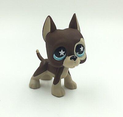 Littlest Pet Shop Dog #817-S1 LPS Great Dane Cute Toys Puppy