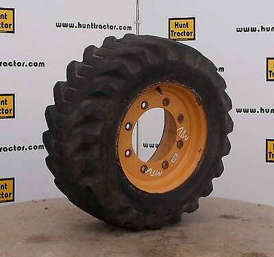 Used Goodyear 10 Ply 12-16.5 Tire on Wheel