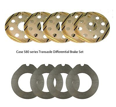 Case Replacement Transaxle Differential Brake Set Fits 580e 580se 580k More