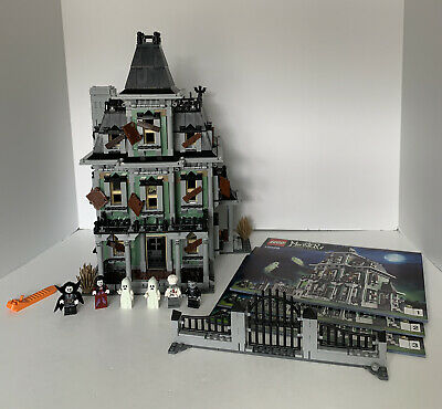 Lego Monster Fighters Haunted House (10228) Expert Creator With Instructions