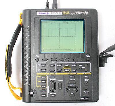 Tektronix Ths720p 100mhz 500mss Dual Channel Oscilloscope