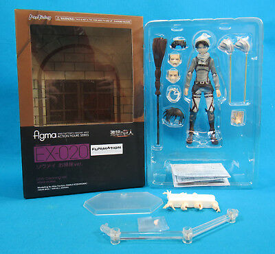 Figma Attack on Titan EX 020 Levi Cleaning Version with Box U.S. Seller