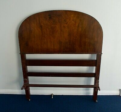 Staples N°1 Antique Single Bed Mahogany Art Deco 1930s