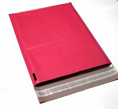 100 Shipping Bags 7.5x10.5 Pink Color Poly Mailers Shipping Envelopes